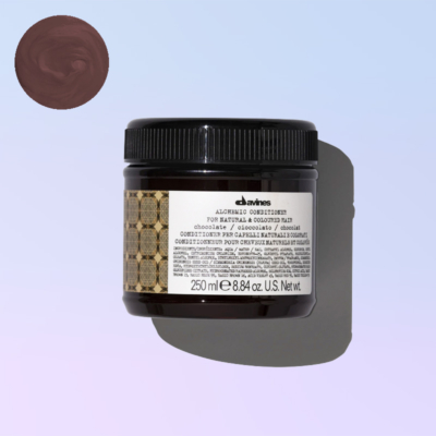 Chocolate conditioner alchemic davines