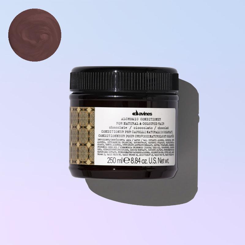 Chocolate conditioner alchemic davines