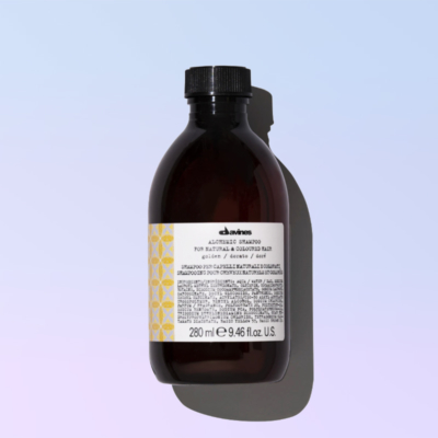Golden shampoo alchemic davines