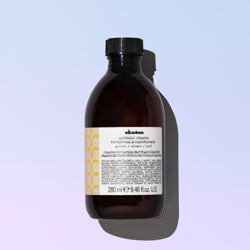 Golden shampoo alchemic davines