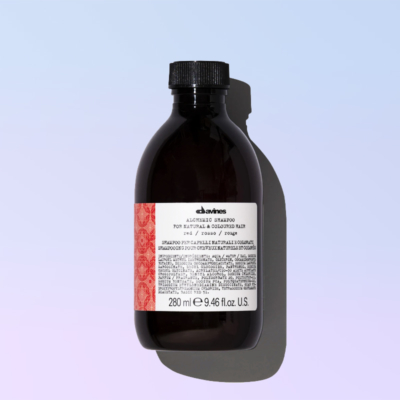 Red shampoo alchemic davines
