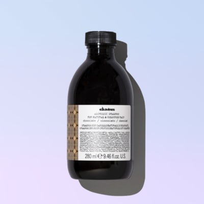 chocolate shampoo alchemic davines