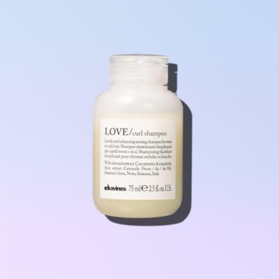 davines love curl shampoo 75ml
