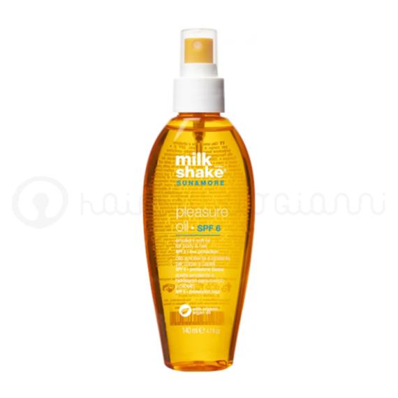 olio solare pleasure oil milk shake