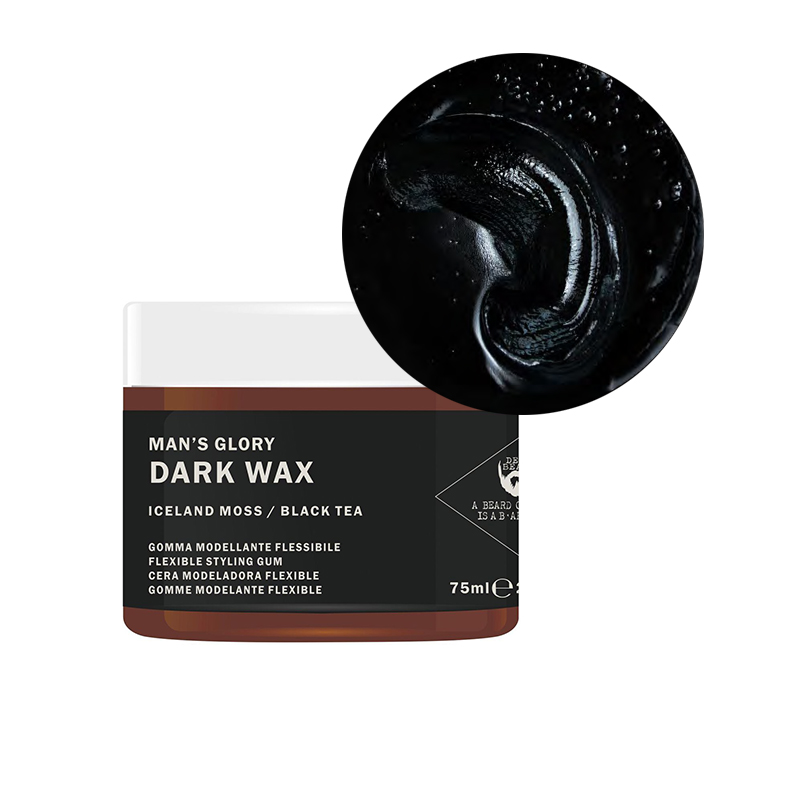 dark wax dear beard cera per capelli nero