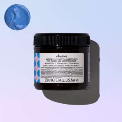 Marine blue conditioner alchemic davines