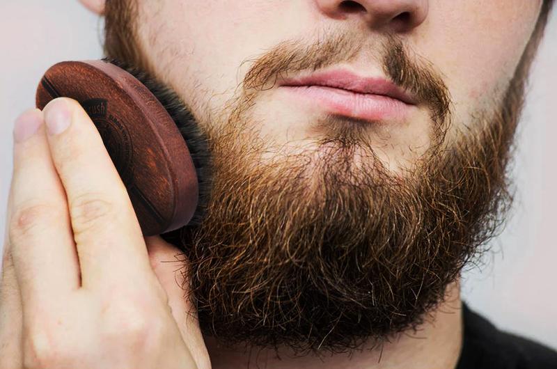spazzola barba e capelli
