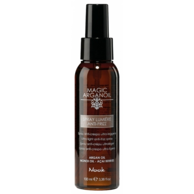 spray lumiere anti frizz nook 100ml
