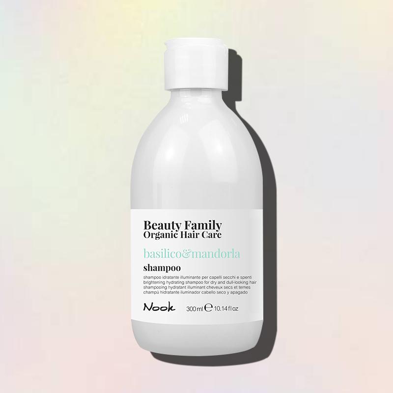 basilico e mandorla shampoo nook beauty family
