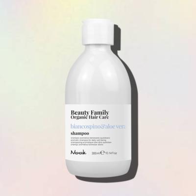 biancospino e aloe vera shampoo nook beauty family
