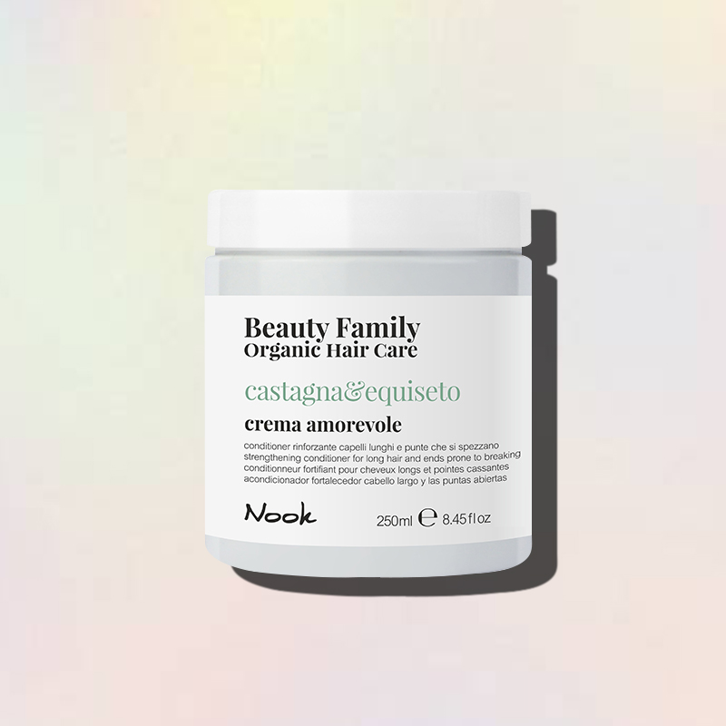castagna e equiseto crema amorevole nook beauty family
