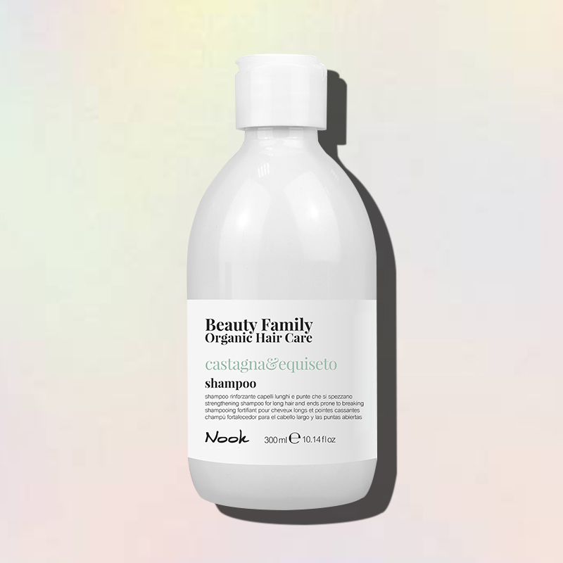 castagna e equiseto shampoo nook beauty family